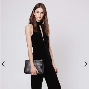Top shop jumpsuit (velvet)